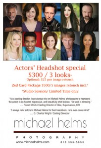 actors headshot los angeles