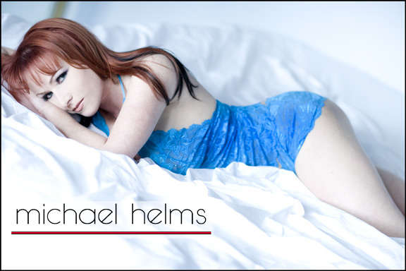 actors headshot by michael helms boudoir