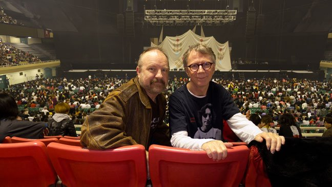Los Angeles Photographer Michael Helms at Budokan with Jim Beaver