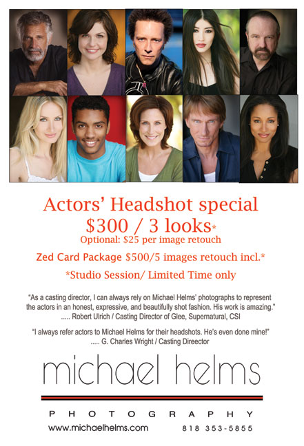 Michael-Helms-photography - LA Actors' headshot photographer